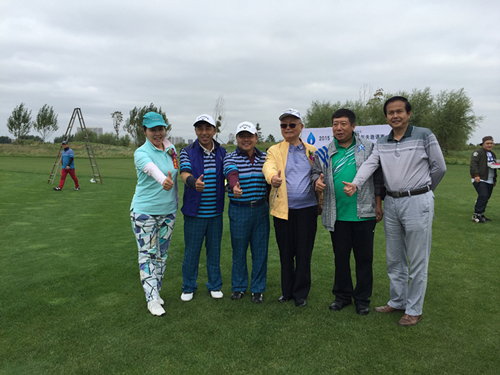 wingStar模拟高尔夫赞助黑龙江2015高尔夫邀请赛