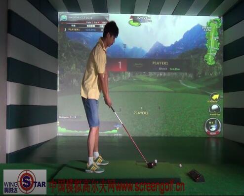 嘉兴宽屏模拟高尔夫试球