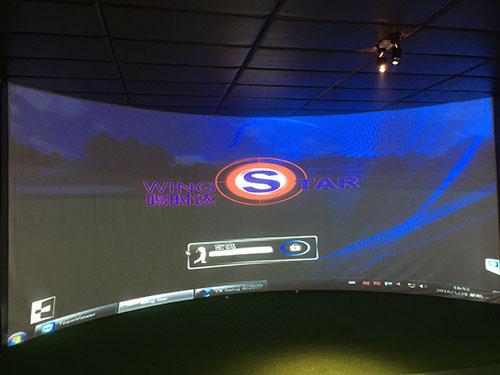 韩国原装进口WS6型模拟高尔夫