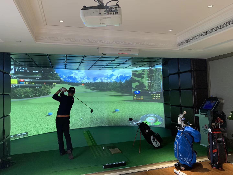 韩国原装进口wingStar-WS6型模拟高尔夫
