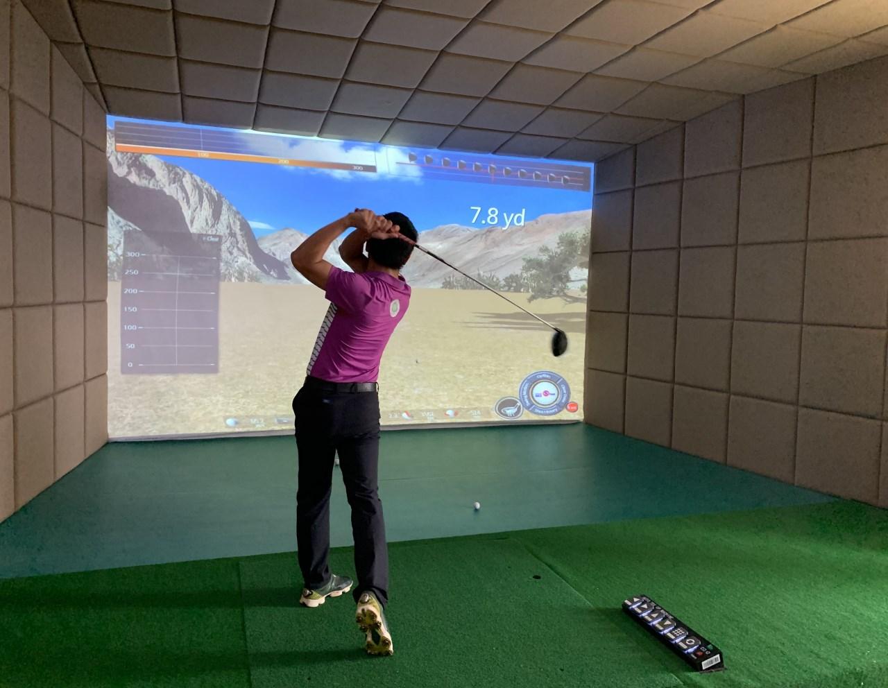 韩国原装进口wingStar-WS2型模拟高尔夫
