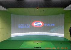 韩国原装进口wingStar-WS3型模拟高尔夫