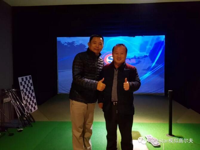 模拟高尔夫考察,台北高尔夫协会吴见亨会长访问韩国