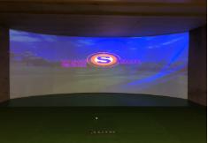 韩国原装进口wingStar-WS7型模拟高尔夫